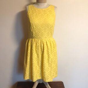 Kenzie yellow dress, medium